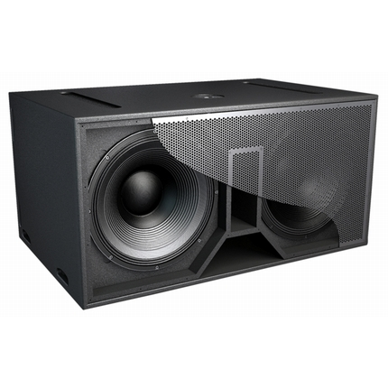 Double 18 inch subwoofer