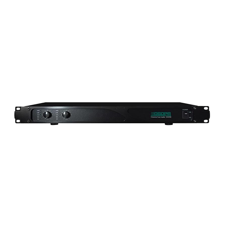 DA2500 2*500W Dual Channels Digital Amplifier