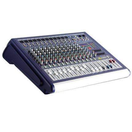 12 Channel Powered Mixer