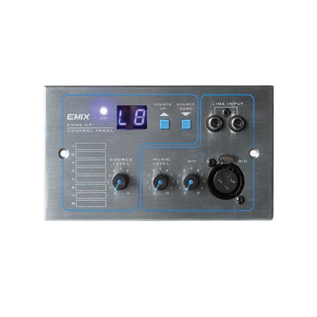 Control Panel C/w Audio And Mic Input EMMX-CP1