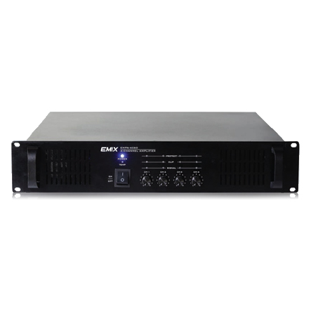 4x60W / 4x120W Multi-Channel Power Amplifier
