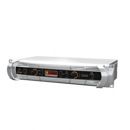 BEHRINGER | NU1000DSP | 2 x 100W / 200W @ 8 Ohms / 4 Ohms Light Weight Power Amplifier with Digital Signal Processing