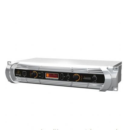 BEHRINGER | NU6000DSP | 2 x 1,100W / 2,200W @ 8 Ohms / 4 Ohms Light Weight Power Amplifier with Digital Signal Processing