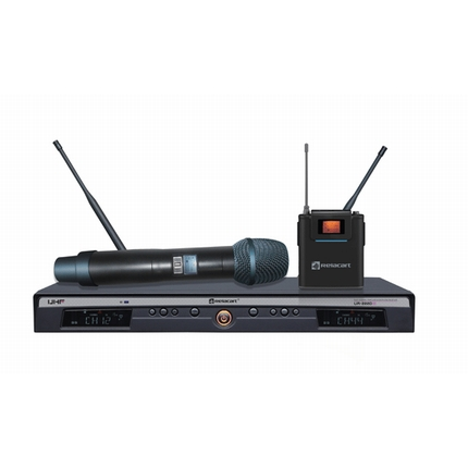 UR-222D Dual-channel Wireless Microphone