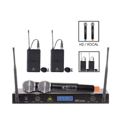 UX-4P Professional UHF Wireless Microphone