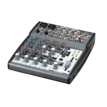 Premium 10-Input 2-Bus Portable Mixer with XENYX Mic Preamps and British EQs