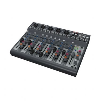 BEHRINGER | XENYX-1002B | Premium 10-Input 2-Bus Mixer with XENYX Preamps,