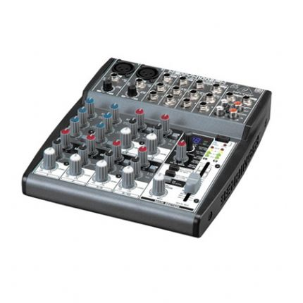 Premium 10-Input 2-Bus Mixer with XENYX Mic Preamps