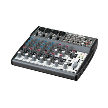 BEHRINGER | XENYX-1202 | Premium 12-Input 2-Bus Mixer with XENYX Mic Preamps and British EQs