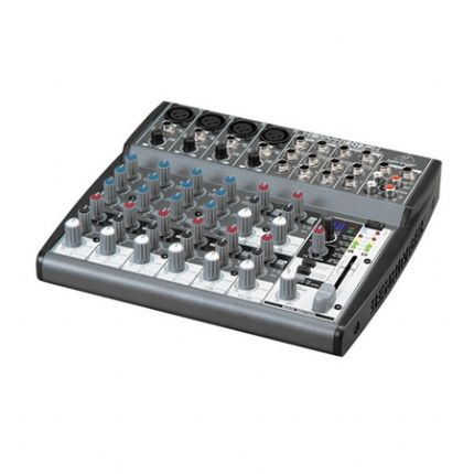 Premium 12-Input 2-Bus Mixer with XENYX Mic Preamps,