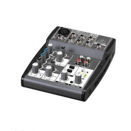 BEHRINGER | XENYX-502 | Premium 5-Input 2-Bus Mixer with XENYX Mic Preamp and British EQ