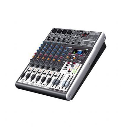 BEHRINGER | XENYX-X1204USB | Premium 12-Input 2/2-Bus Mixer with XENYX Mic Preamps & Compressors