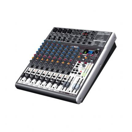 Premium 16-Input 2/2-Bus Mixer with XENYX Mic Preamps & Compressors
