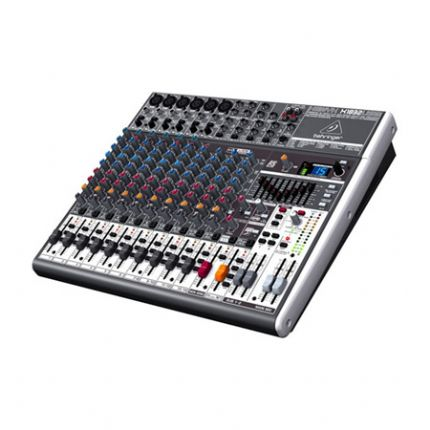 Premium 18-Input 3/2-Bus Mixer with XENYX Mic Preamps & Compressors, British EQs, 24-Bit Multi-FX Processor and USB/Audio Interface