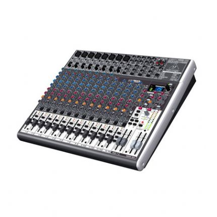 Premium 22-Input 2/2-Bus Mixer with XENYX Mic Preamps & Compressors