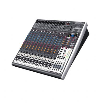 BEHRINGER | XENYX-X2442USB | Premium 24-Input 4/2-Bus Mixer with XENYX Mic Preamps & Compressors