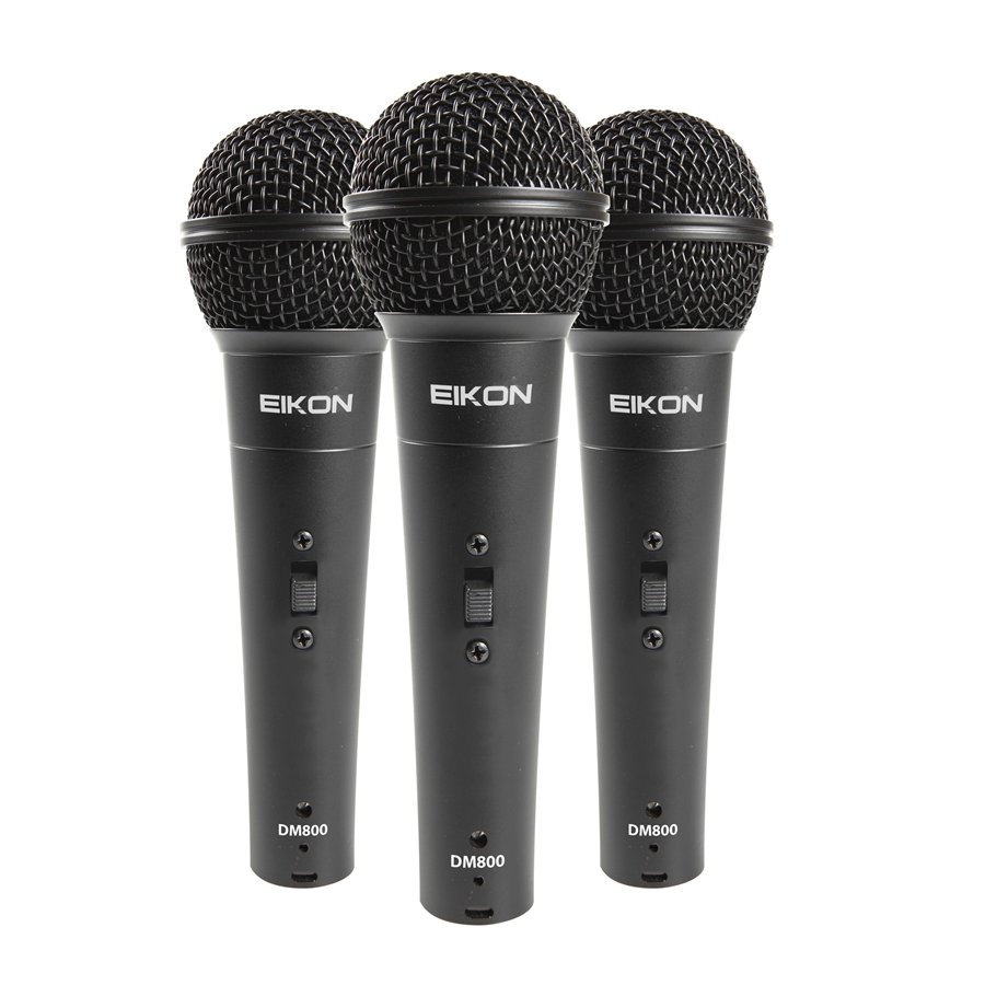 KIT Made of 3 Vocal Dynamic Microphones